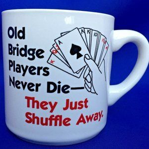 Old Bridge Players Mug Never Die They Just Shuffle